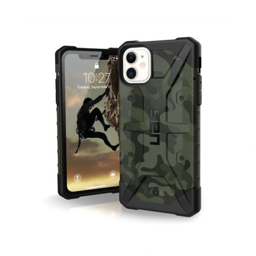 Op lung iPhone 11 UAG Pathfinder SE Camo Forest 01 bengovn