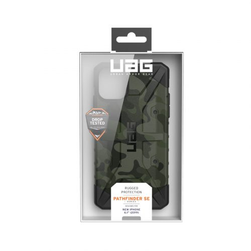 Op lung iPhone 11 UAG Pathfinder SE Camo Forest 07 bengovn