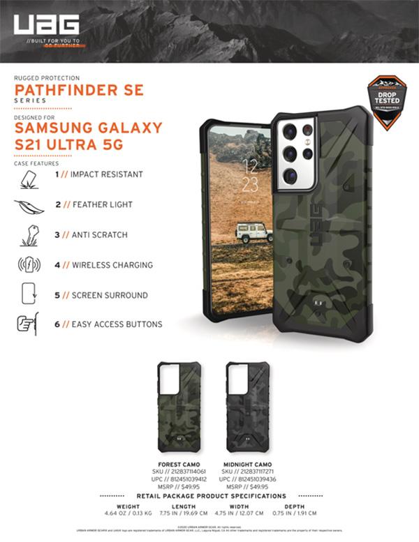 Ốp lưng UAG Samsung Galaxy S21 Ultra