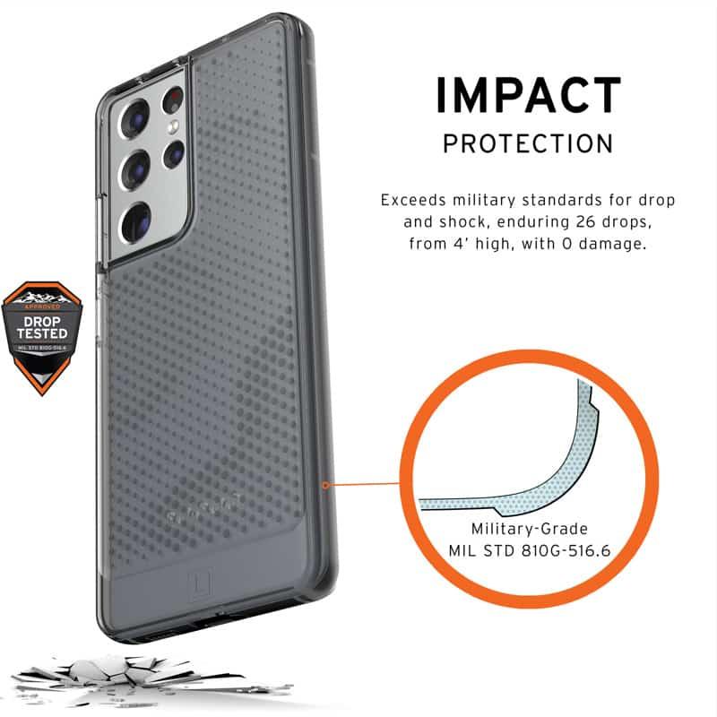 U Op lung Samsung Galaxy S21 Ultra 5G UAG Lucent Series 26 bengovn