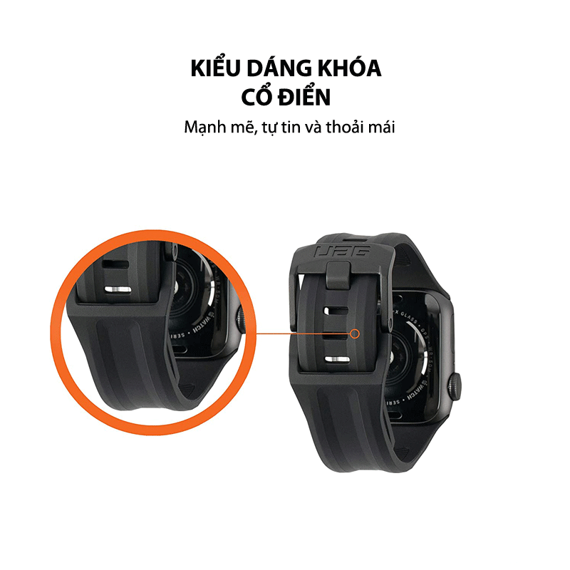Day dong ho silicone UAG Scout 03 bengovn 1