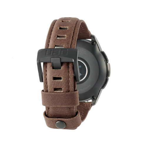 day deo samsung galaxy watch 42mm uag leather series leather brown1 bengovn