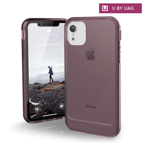 op lung iphone xr uag u lucent series dusty rose bengo