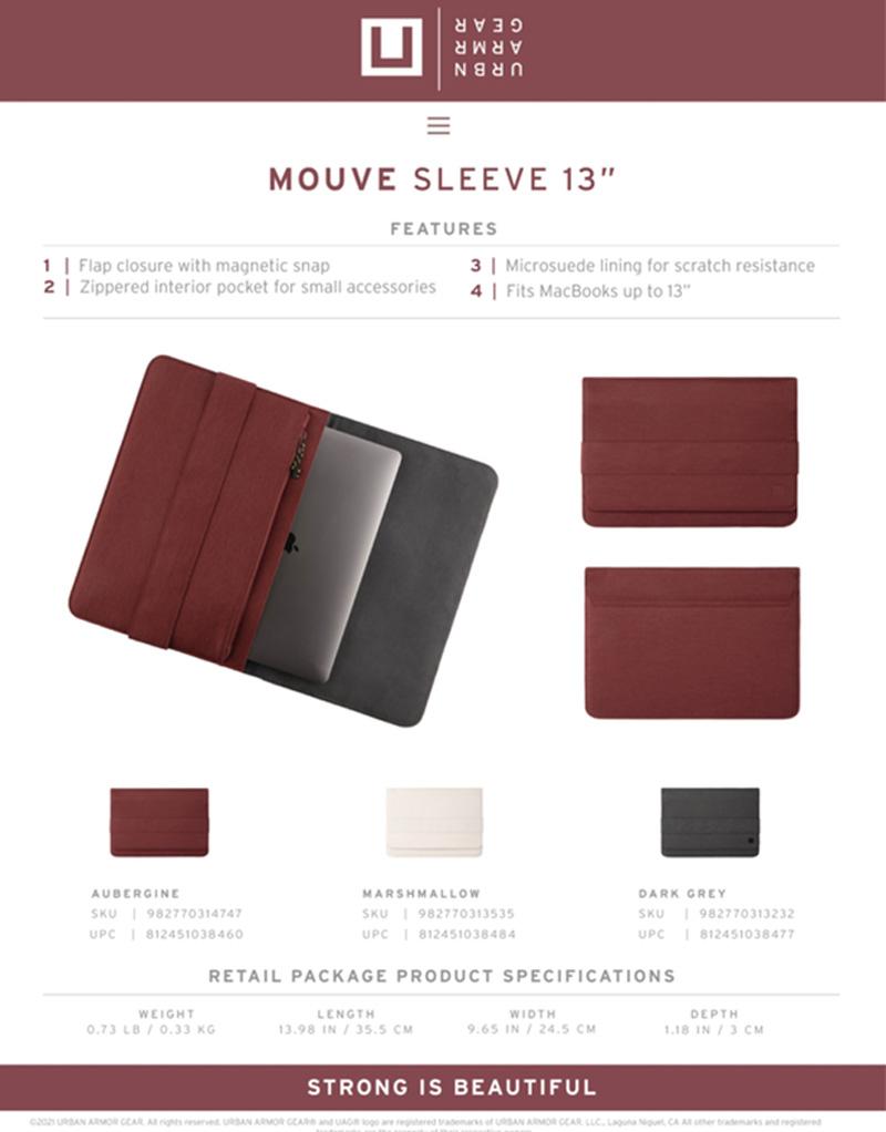 U Tui UAG Sleeve cho Macbook Tablet 13 18 bengovn