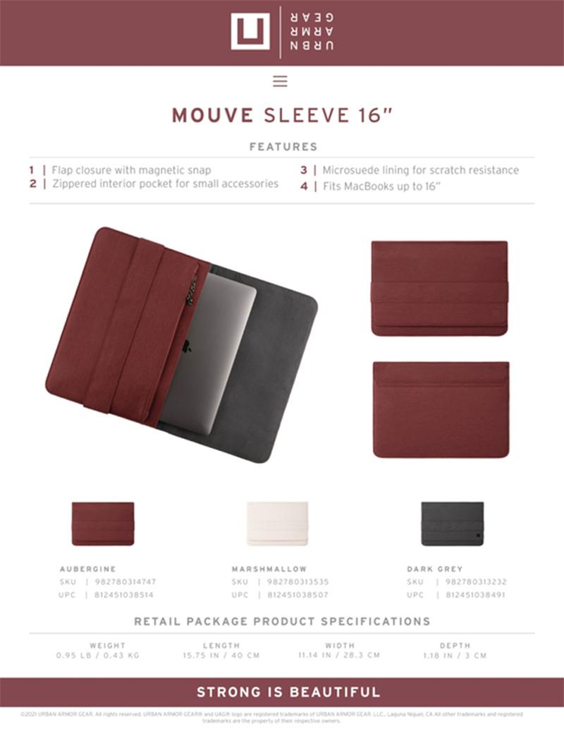 U Tui UAG Sleeve cho Macbook Tablet 16 18 bengovn