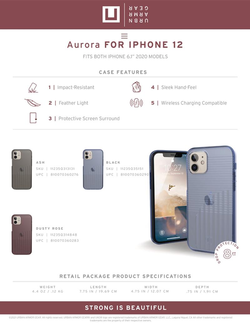 U Op lung UAG Aurora iPhone 12 35 bengovn
