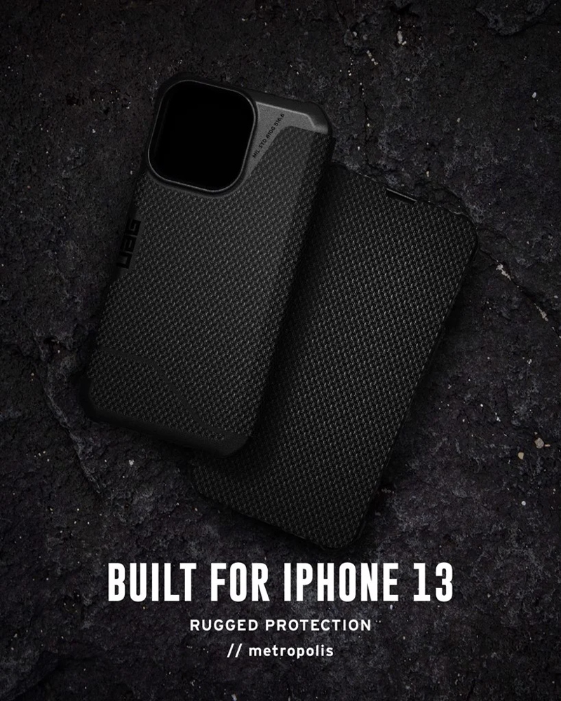 Bao da iPhone 13 UAG Metropolis Series 08 bengovn 2