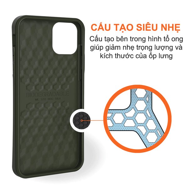 Op lung iPhone 12 Pro Max UAG Biodegradable Outback Series 29 Bengovn