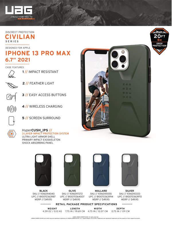 Op lung iPhone 13 Pro UAG Civilian Series 29 bengovn 2