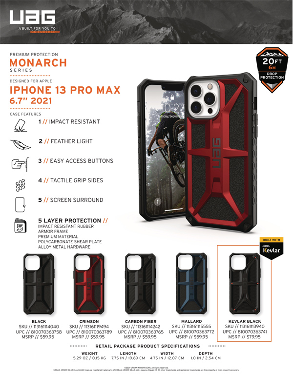 Op lung iPhone 13 Pro UAG Monarch Series 29 bengovn 2