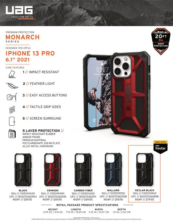 Op lung iPhone 13 Pro UAG Monarch Series 29 bengovn