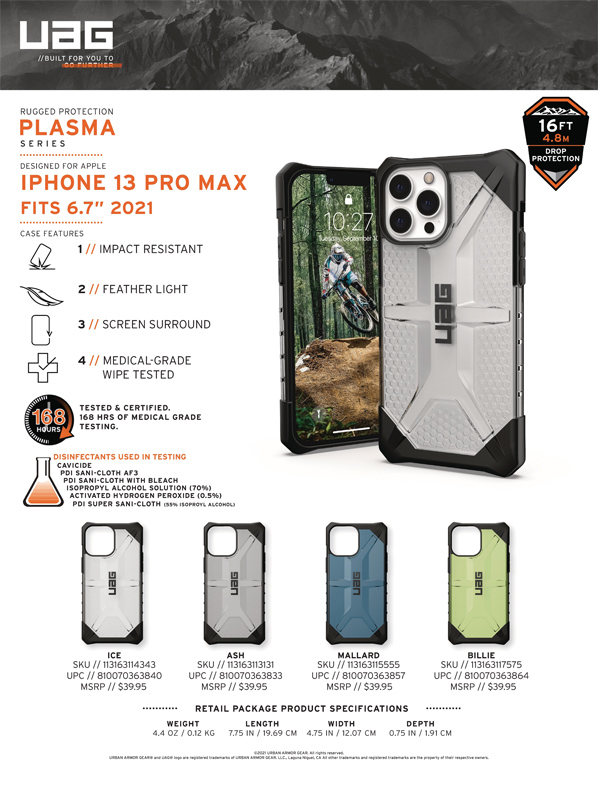 Op lung iPhone 13 Pro UAG Plasma Series 28 bengovn 1