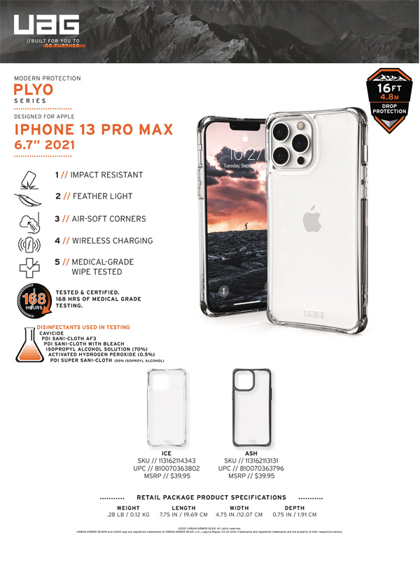 Op lung iPhone 13 Pro UAG Plyo Series 15 bengovn 1