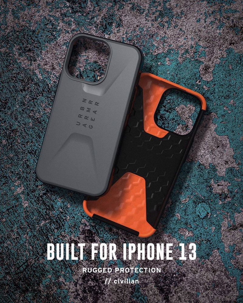 Op lung iPhone 13 UAG Civilian Series 25 bengovn 2