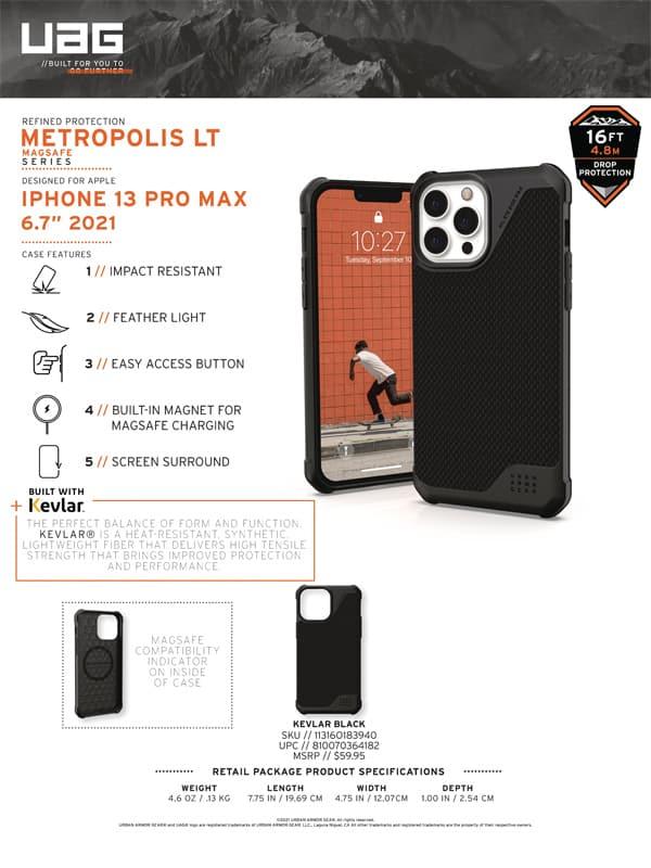 Op lung iPhone 13 Pro UAG Metropolis LT Series 12 bengovn