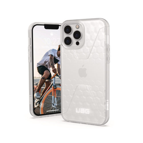 Op lung iPhone 13 UAG Civilian Frosted Ice Series 01 bengovn 1