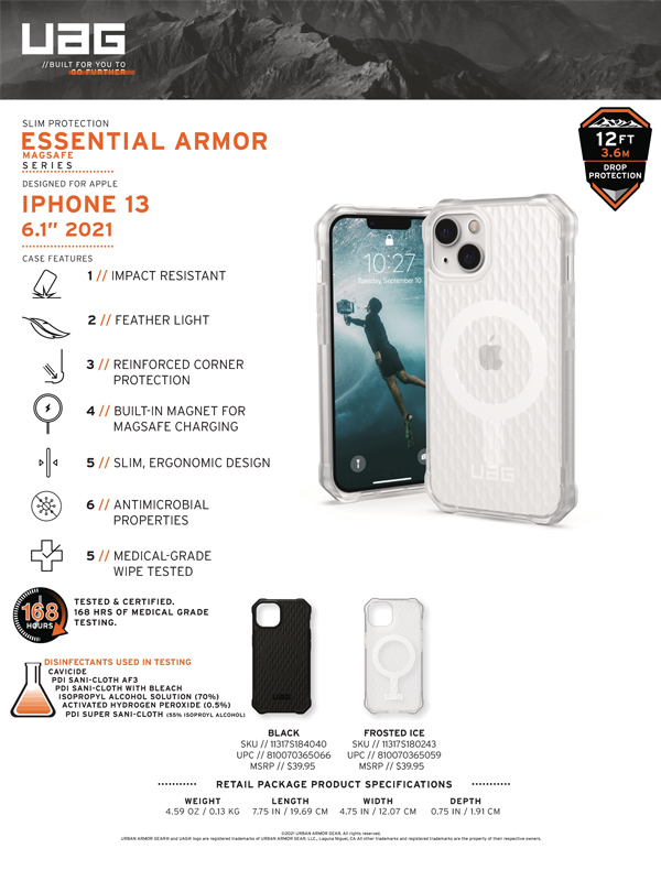 Op lung iPhone 13 UAG Essential Armor with MagSafe Series 19 bengovn 1