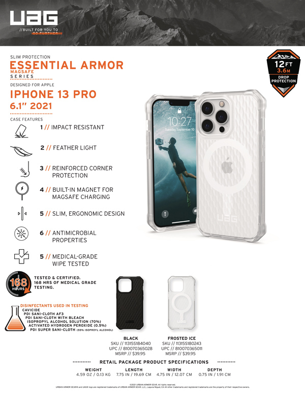 Op lung iPhone 13 UAG Essential Armor with MagSafe Series 19 bengovn 2