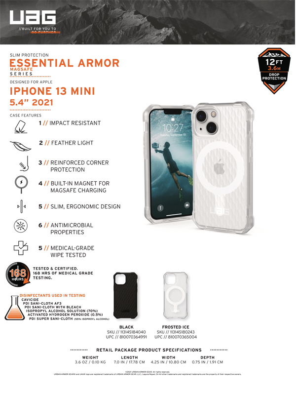 Op lung iPhone 13 UAG Essential Armor with MagSafe Series 19 bengovn 3