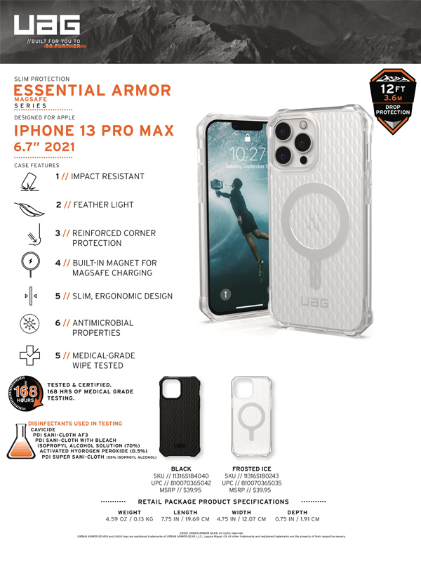Op lung iPhone 13 UAG Essential Armor with MagSafe Series 19 bengovn