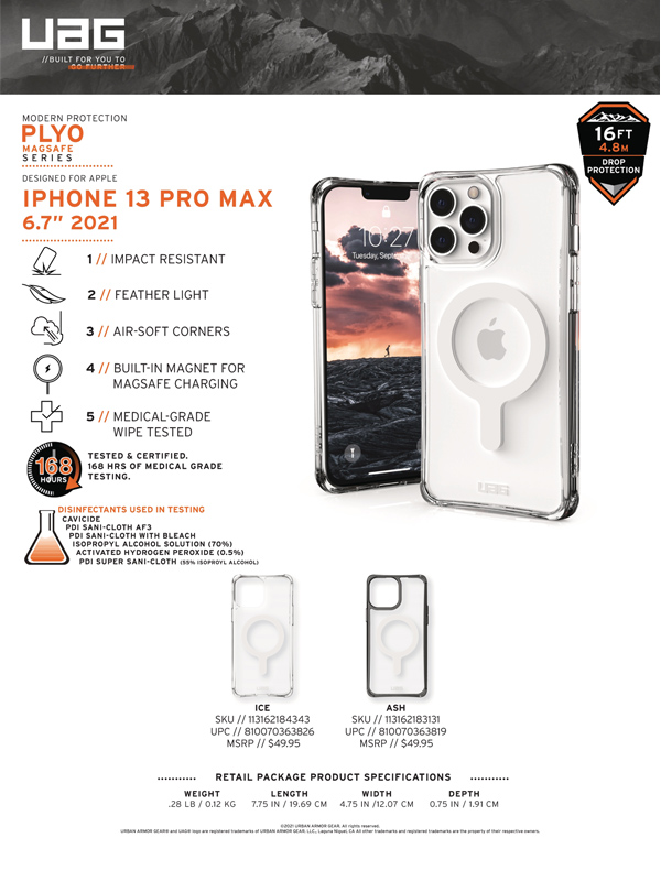 Op lung iPhone 13 UAG Plyo with MagSafe Series 20 bengovn