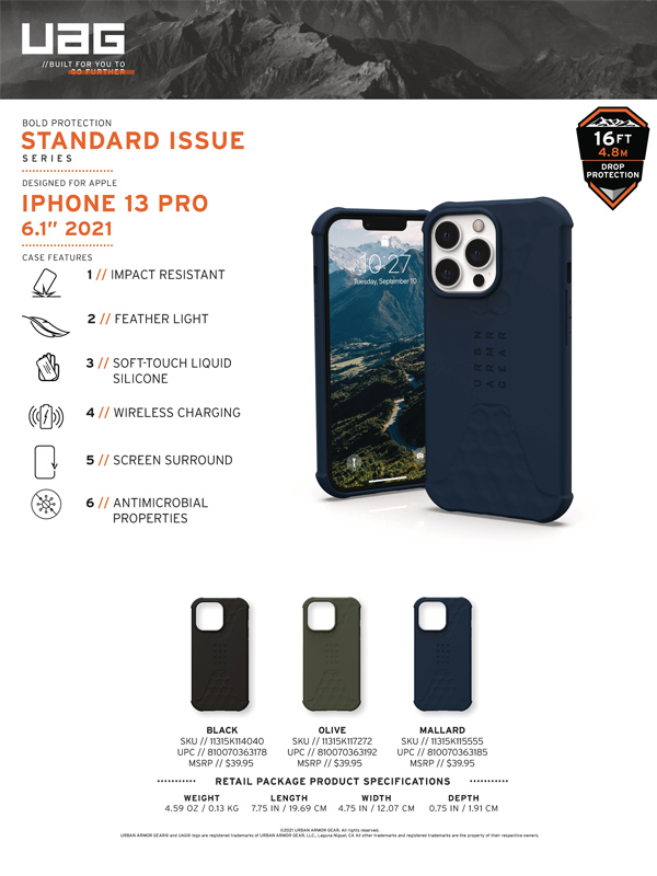 Op lung iPhone 13 UAG Standard Issue Series 24 bengovn 2
