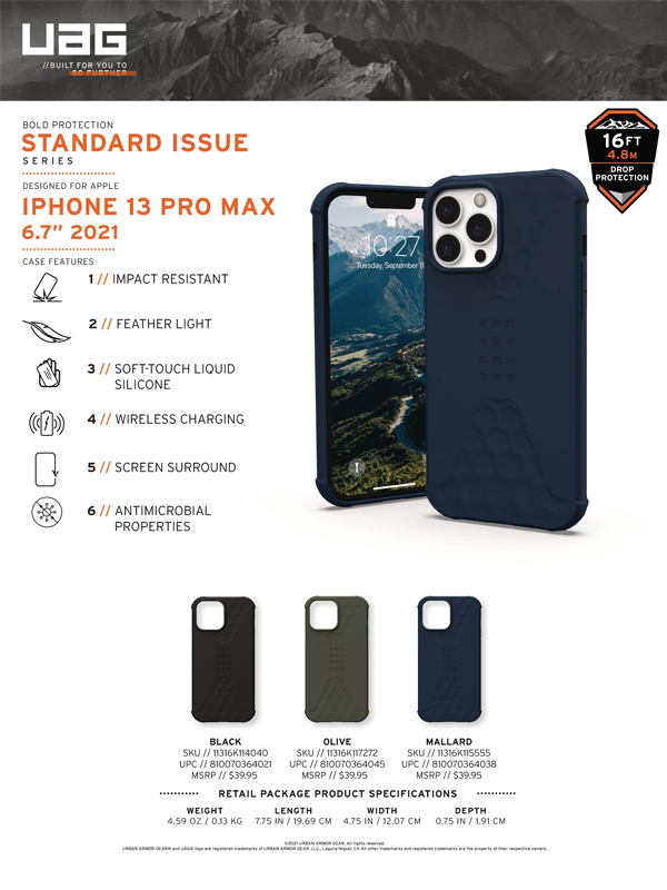 Op lung iPhone 13 UAG Standard Issue Series 24 bengovn