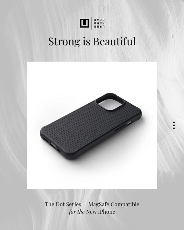 Op lung iPhone 13 UAG U Dot Series 45 bengovn 4