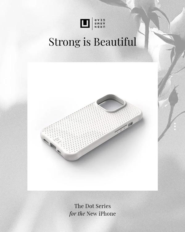 Op lung iPhone 13 UAG U Dot Series 45 bengovn