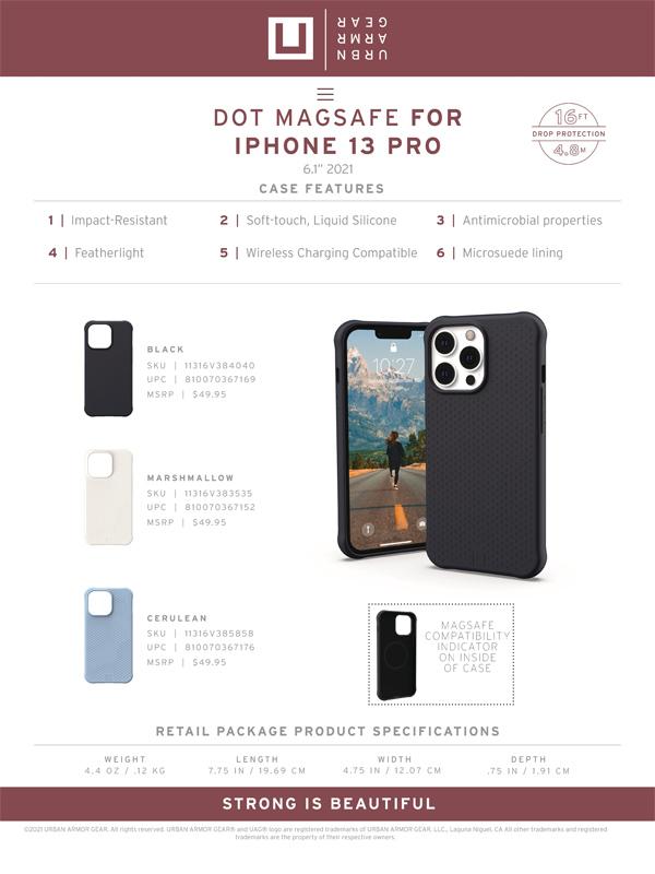 Op lung iPhone 13 UAG U Dot with MagSafe Series 44 bengovn